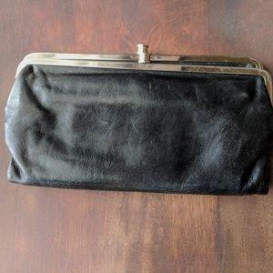 Hobo Black Lauren Clutch Wallet